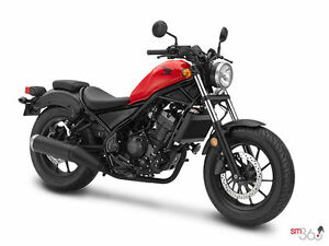 Honda Rebel 500cc Rouge