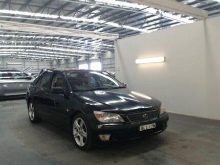 2000 Lexus IS200 GXE10R Sports Luxury Black 4 Speed Automatic Sedan