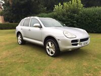 2005 Porsche Cayenne S 4.5 Tiptronic Automatic Private registration plate Full service history