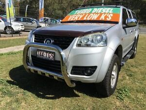 2011 Great Wall V200 K2 (4x4) Silver 6 Speed Manual Dual Cab Utility Clontarf Redcliffe Area Preview