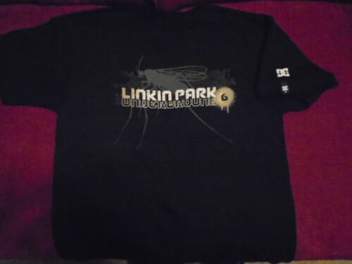 RARE Linkin Park DC shoes Underground 6 fan club SHIRT medium CHESTER BENNINGTON