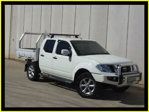 2013 Nissan Navara D40 MY12 ST (4x4) White 6 Speed Manual Dual Cab Pick-up Penrith Penrith Area Preview