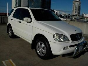 2003 Mercedes-Benz ML350 W163 MY03 Luxury White 5 Speed Sports Automatic Wagon Southport Gold Coast City Preview