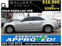 2010 Cadillac CTS 3.0L $169 BI-WEEKLY APPLY NOW DRIVE NOW