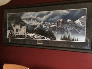 """Ducks Unlimited Framed Print- """"Storm Chasers"""" by Wilf Schlitt"""