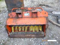 WESTWOOD GARDEN TRACTOR POWERED GRASS SWEEPER