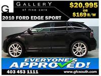 2010 FORD EDGE SPORT AWD *EVERYONE APPROVED* $0 DOWN $169/BW!