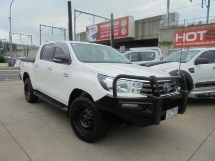 2015 Toyota Hilux GUN126R SR White Sports Automatic Utility Granville Parramatta Area Preview