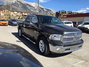 2016 Ram 1500 Laramie | Leather, Heated Seats | Navigation | Sun