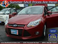 2012 Ford Focus SEL :: 100% FINANCE APPROVAL :: $0 DOWN :: APPLY