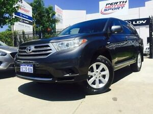 2013 Toyota Kluger GSU45R MY11 Upgrade KX-R (4x4) 5 Seat Graphite 5 Speed Automatic Wagon Beckenham Gosnells Area Preview
