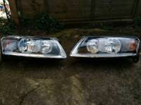 Audi A6 S6 C6 4F Headlamps Hella Genuine