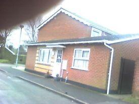 Swap Brooke (poringland) for Wymondham -1 bed bungalow