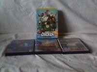 Robot Chicken DVD series 1 to 3