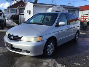 2004 Honda Odyssey EX AUT 7 PASS 1799$ 514-692-0093