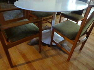 MCM Teak dining Chairs x 4