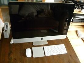 Apple iMac 27 inch i5 Processor 2.66 Ghz 16gb Ram 1TB Logic9 Adobe FinalCutProX/Studio **YOSMITE**