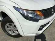2016 Mitsubishi Triton MQ MY16 GLX+ Double Cab White 5 Speed Sports Automatic Utility Morley Bayswater Area Preview