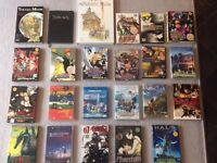HUGE lot of ANIME ,MANGA ,STUDIO GHIBLI etc Graphic Novel,DVD, Blu Ray-Naruto , Death Note, Bleach