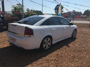 2004 Holden Vectra  White 4 Speed Automatic Sedan Hidden Valley Darwin City Preview