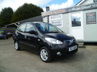 2009 HYUNDAI I10 COMFORT GROUP 3 INS £30 TAX ..FREE 6 MONTHS RAC WARRANTY.FINANCE AVAILABLE