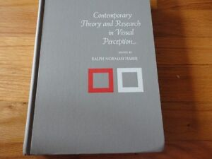 Contemporary Theory and Research in Visual Perception By haber London Ontario image 1
