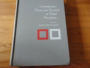 Contemporary Theory and Research in Visual Perception By haber