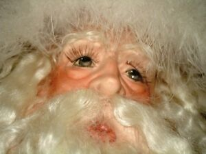 3' Tall FATHER TIME Kris Kringle Santa CHRISTMAS Porcelain DECOR Oakville / Halton Region Toronto (GTA) image 6