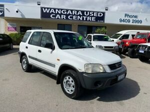 2001 Honda CR-V (4x4) White 5 Speed Manual 4x4 Wagon Wangara Wanneroo Area Preview