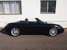 2005 Porsche Boxster 987 MY05 Black 5 Speed Automatic Convertible Petersham Marrickville Area Preview