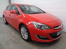 VAUXHALL ASTRA , 2013/63 REG , ONLY 26000 MILES + HISTORY , YEARS MOT , FINANCE AVAILABLE , WARRANTY
