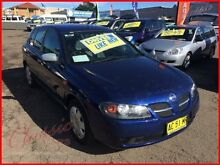 2004 Nissan Pulsar N16 MY03 ST Blue 4 Speed Automatic Hatchback Lansvale Liverpool Area Preview