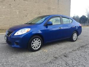 2012 Nissan Versa SV/1.6L Gas Saver/Certified and E-Tested