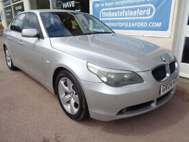 BMW 530 3.0 auto 2004 i SE Full S/H 16 stamps £5350 added extras Low miles 78k
