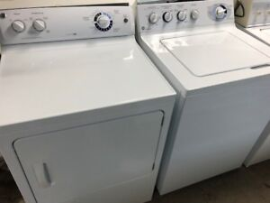 LIKE NEW GE WASHER AND DRYER PAIR; MUST BE SEEN