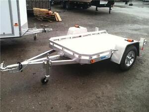 CargoPro All Aluminum Utilty 5x8 Tilt Trailer