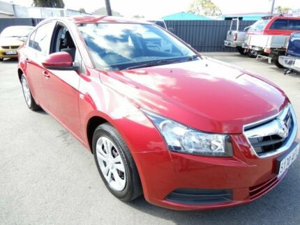 2010 Holden Cruze JG CD Maroon 6 Speed Sports Automatic Sedan Enfield Port Adelaide Area Preview