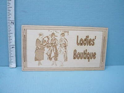 Miniature Store Sign - Ladies Boutique SP113- Dragonfly Int'l 1/12th](Dragonfly Store)
