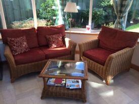 Burdekin conservatory wicker furniture -