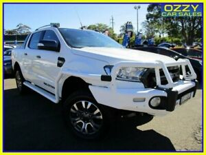 2016 Ford Ranger PX MkII Wildtrak 3.2 (4x4) White 6 Speed Automatic Dual Cab Pick-up Penrith Penrith Area Preview