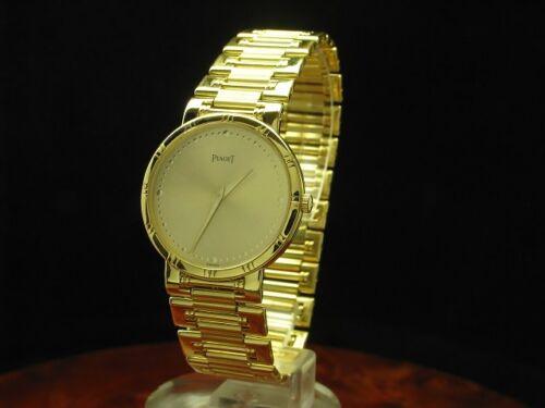 Piaget Dancer 18kt 750 Gold Gelbgold Herrenuhr Armbanduhr / Ref 84023 K81