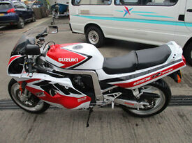 Suzuki GSXR Classic Motorbike