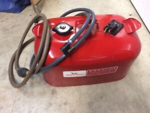 Johnson Evinrude outboard motor gas tank and hoses for sale