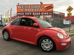 2000 Volkswagen Beetle 9C 2.0 Red 4 Speed Automatic Hatchback Laverton Wyndham Area Preview
