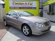 2005 Mercedes-Benz CLK240 C209 MY05 Avantgarde Silver 5 Speed Automatic Coupe Bundall Gold Coast City Preview