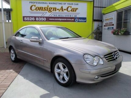 2005 Mercedes-Benz CLK240 C209 MY05 Avantgarde Silver 5 Speed Automatic Coupe