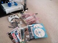 Immaculate XBOX 360 - Controllers plus over 50 games