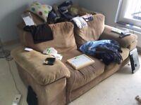 2No 2 seater sofas