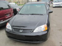 2002 Honda Civic 4 doors, Automatic  saety and e test
