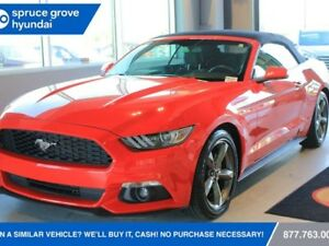 2017 Ford Mustang CONVERTIBLE-PRICE COMES WITH A $250 GAS CARD-V